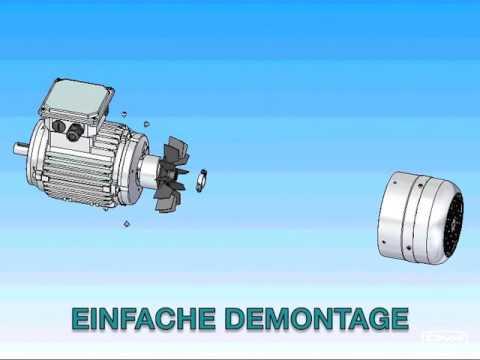 TVT America modular IEC motor - YouTube