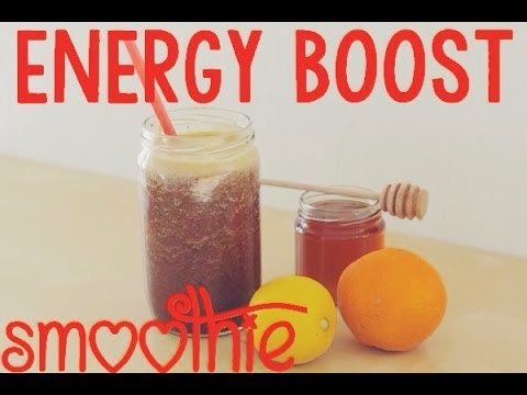 easy energy boost smoothie smoothielicious