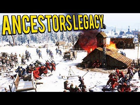 SLAVS AND ANGLO SAXON RAIDING- Ancestors Legacy Multiplayer 2v2