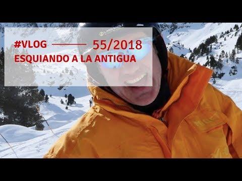 Vlog 55 | Esquiando a la antigua -  Andorra