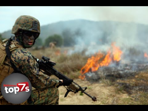 Top 7 Worlds Most Insane Military Exercises