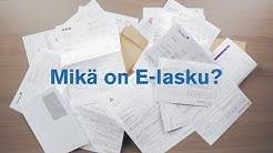 Mikä on E-lasku? | Nordea Pankki