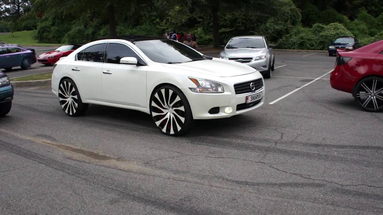 Infiniti On Dub Floaters Nissan Maxima On Starr Wheels At