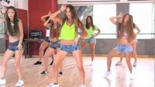 coreografía de danza kuduro don omar