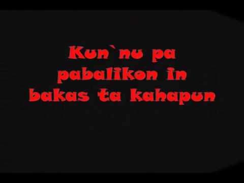 pangannal w/lyrics tausog song