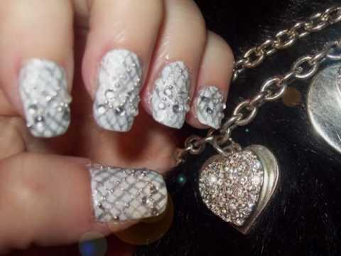 Bad Romance Lady Gaga Inspired Nail Design