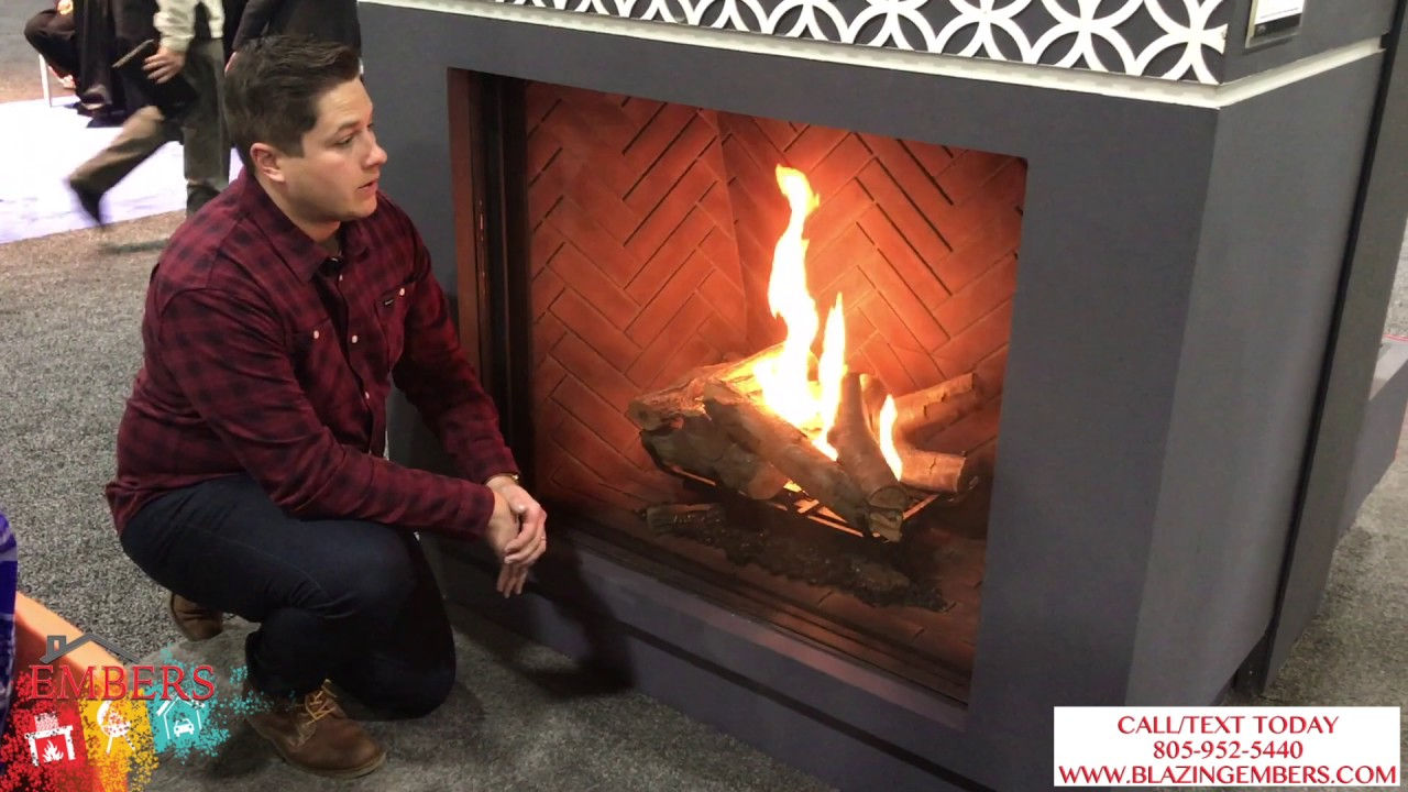 Download Ortal Traditional Frameless Gas Fireplace Product Review