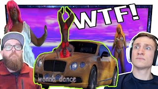 "THIS VIDEO IS SO WEIRD!  - POURSHA ""You Wonna Dance"" -  r/Deep Into Youtube reaction video"