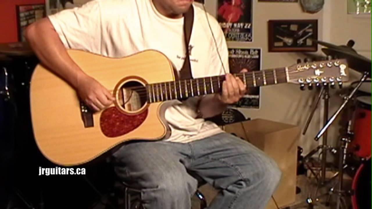 CORT 12 String Acoustic Guitar Demo 1 Pickup