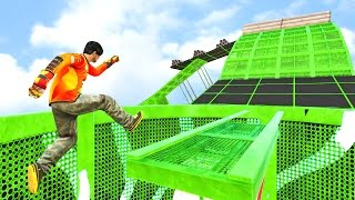 EXTREME PARKOUR! - GTA 5 Funny Moments #682