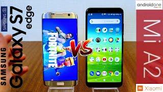 Lo Pidieron, aquí esta: Xiaomi Mi A2 vs Samsung Galaxy S7 Edge