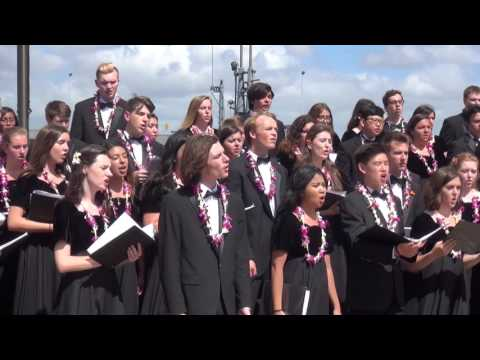 Pearl Harbor VHS Choir, Band and Color Guard April 4, 2017
