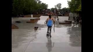 BEX @ the YBF Ladies Skate comp