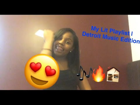 My Lit Playlist | Detroit Music Edition | prettyshaunna