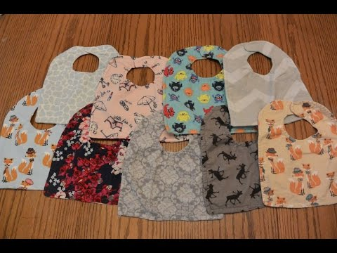 DIY Reversible Baby Bibs Tutorial | How to Make Lots: for Cheap ...