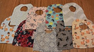 Diy Reversible Baby Bibs Tutorial | How To Make Lots: For Cheap!