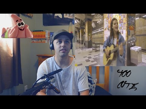 DJ SNAKE - LET ME LOVE YOU (FEAT BIEBER) (MAIA MITCHELL COVER) (REACTION)