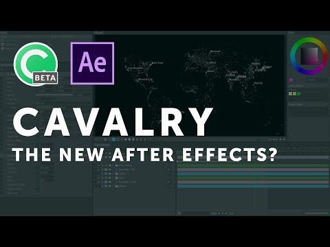 Cavalry: New After Effects Alternative for Motion Design?