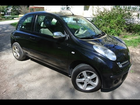 nissan micra k12 1 2 a great little car youtube. Black Bedroom Furniture Sets. Home Design Ideas