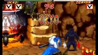 Samurai Shodown 2 Gameplay Tachibana Ukio Leelloyd Record 1 Crédit No Continue Level 8 Maximum Level