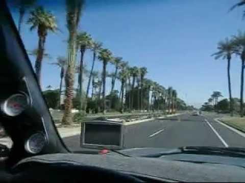 10 26 11  Cruising Indian Wells California...