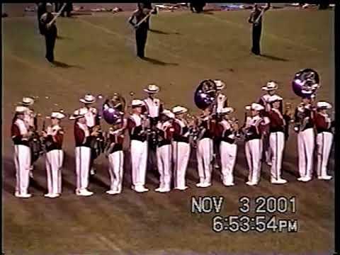 11-3-01 Mississippi Classic (Tate High School Band)