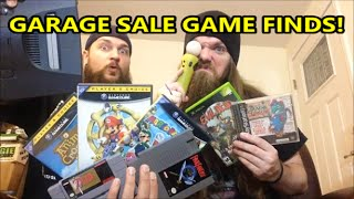GARAGE SALE GAME FINDS! $1 GAMES & SYSTEMS with AlphaOmegaSin!   Scottsquatch