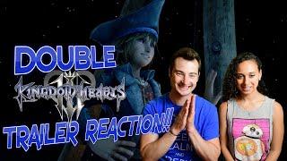 Kingdom Hearts 3 DOUBLE E3 Trailer Reaction!
