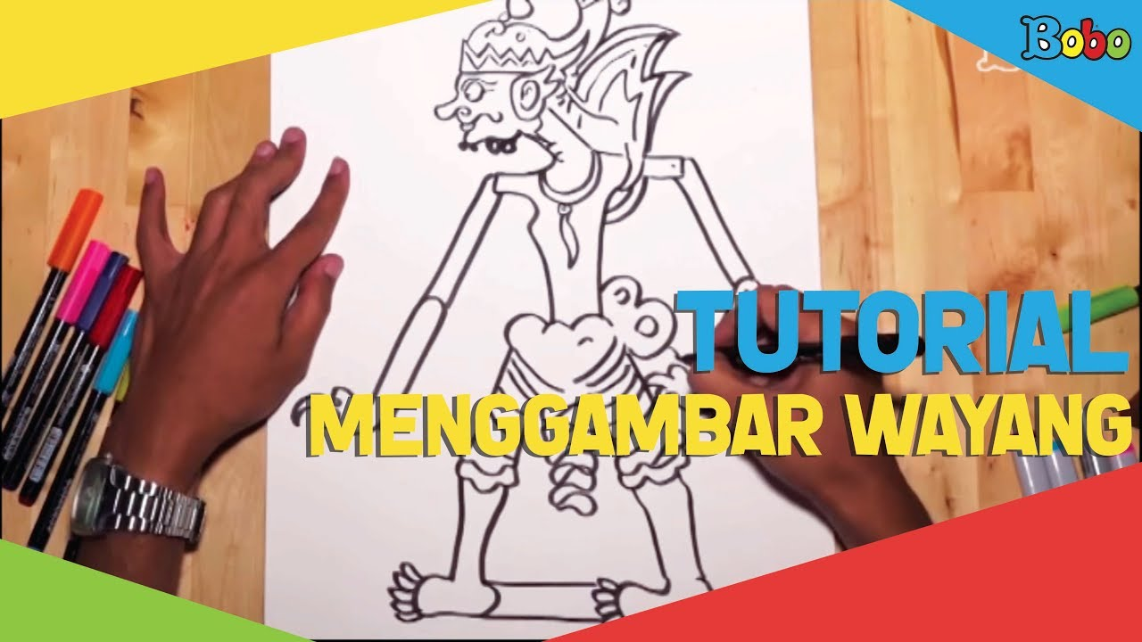 How To Draw Tutorial Cara Menggambar Wayang