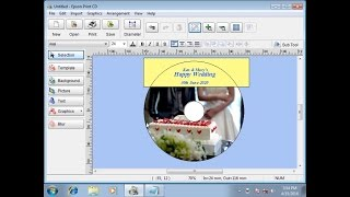How to Print CD/DVD Labels Using PC (Epson XP-900, XP-640, XP-645, XP630, XP-620) NPD5336