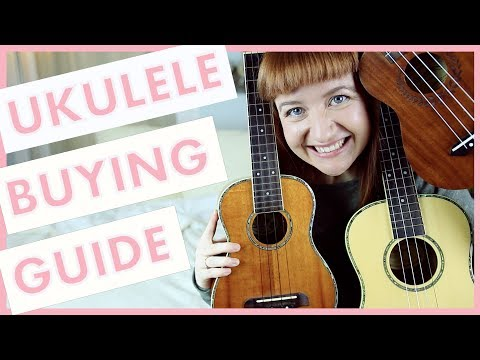 Ukulele Buying Guide!  Compare Prices, Sizes, Brands, Woods, Sounds and More!