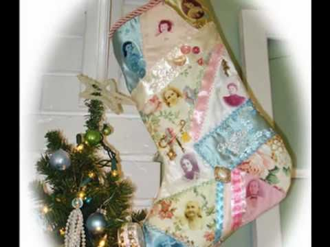 History Of Christmas Stockings.Family History Legacy Christmas Crazy Quilt Stocking Craft Project Part 2
