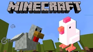 CROSSY ROAD EN MINECRAFT | MINI-JUEGO MINECRAFT
