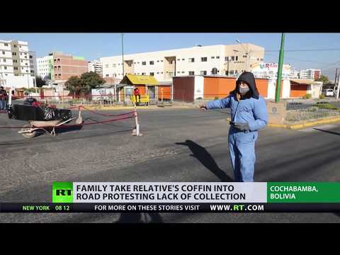 Grim Reality | Lack of COVID-19 victims' bodies collection spark protests in Bolivia