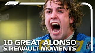 Fernando Alonso's Greatest Renault Moments