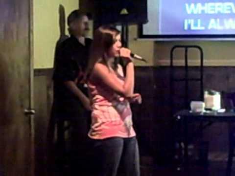 KAREOKE: Katelyn Singing: Bubbly