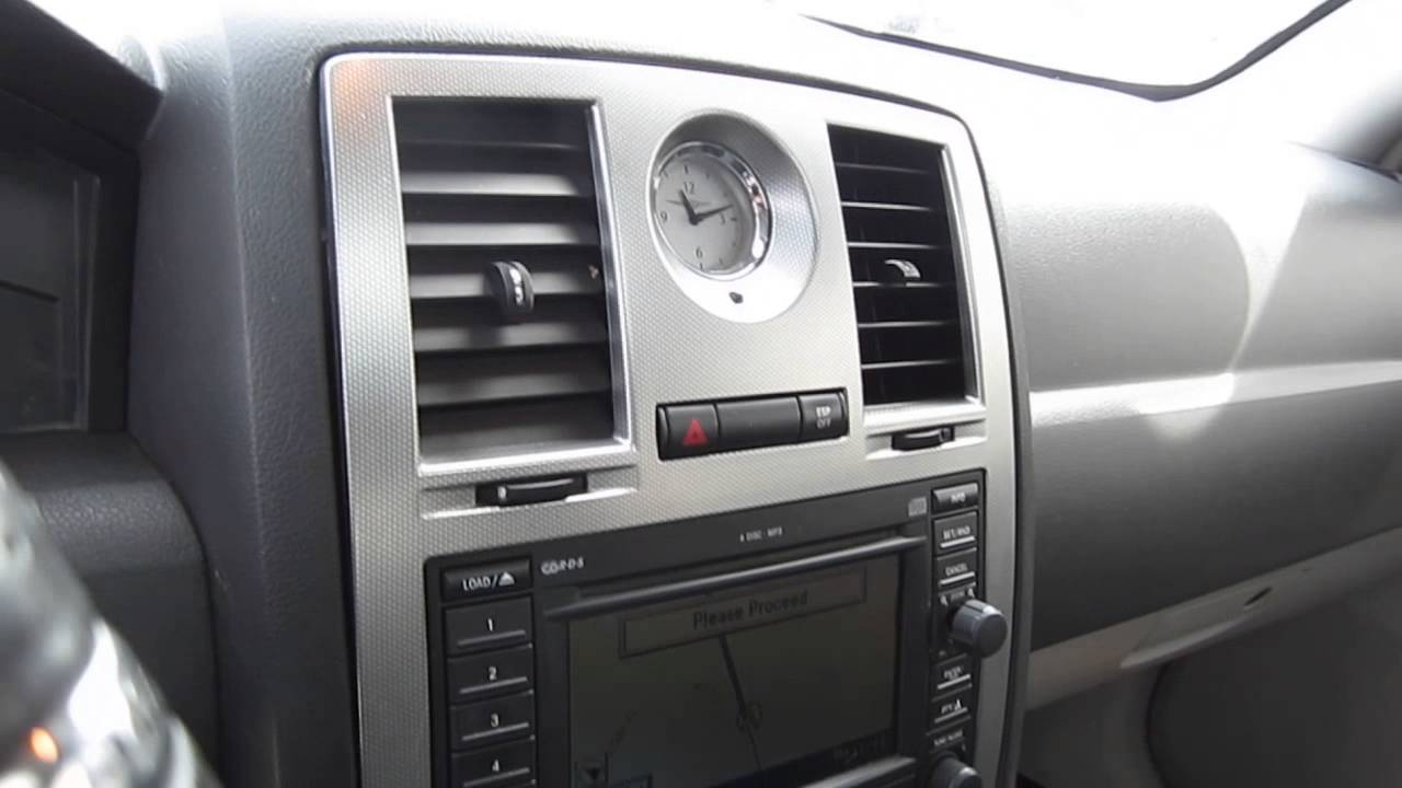 2007 chrysler 300 black stock l609043 interior youtube - 2007 chrysler 300 custom interior ...