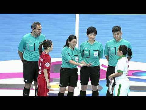 #AFCWFutsal2018 - M02 Hong Kong vs Indonesia