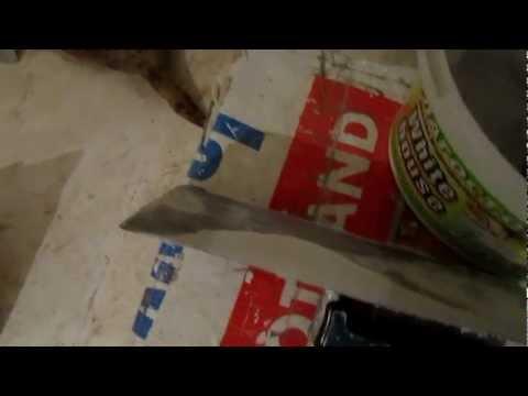 видео: Шпатлевание потолка