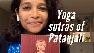 Yoga sutras of Patanjali/ Patanjali's way of doing Yoga