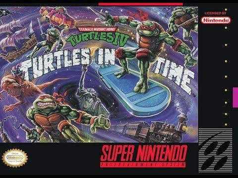 Teenage Mutant Ninja Turtles: Turtles in Time - Super Nintendo - Barril DKlássicos #18