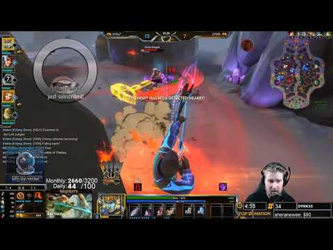 Smite: BEST RAMA PLAYS OF ALL TIME! MID LANE RAMA SNIPES! | Incon