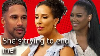 Tanya Sams RHOA says Kenya tried to ruin her! Marc Daly still with other women + recap review