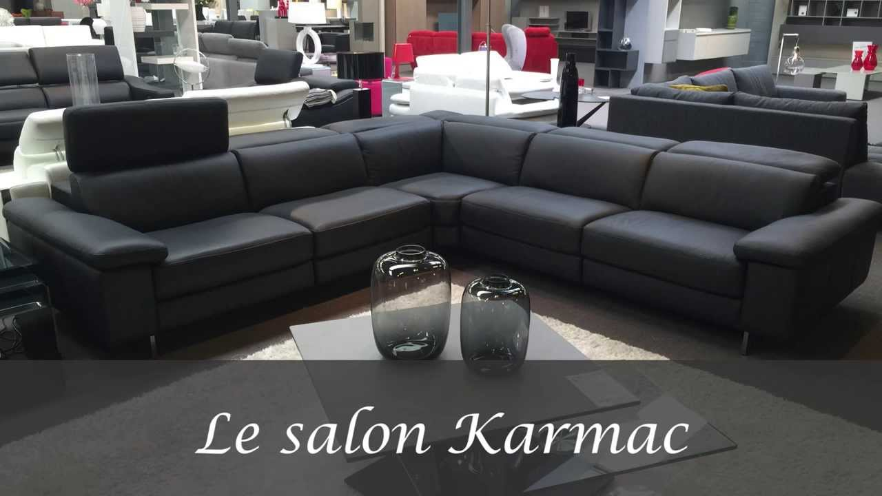 s lection meubles salon karmac meubles belgique youtube. Black Bedroom Furniture Sets. Home Design Ideas