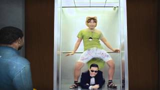 Elevator Source GANGNAM STYLE PSY
