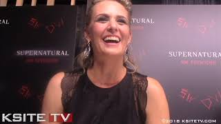 Samantha Smith | Supernatural Episode 300 Carpet | Mary Winchester