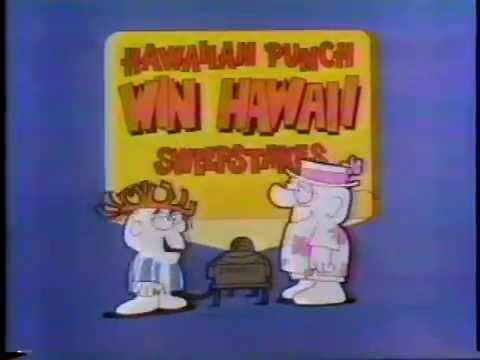 Hawaiian Punch 1978 Win Hawaii Sweepstakes Commercial