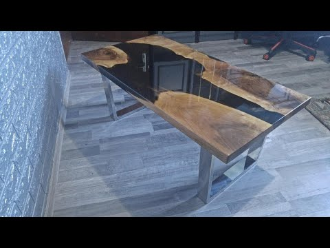 Epoxy table-epoksi stolovi-Woodworking Projects - Resin Art