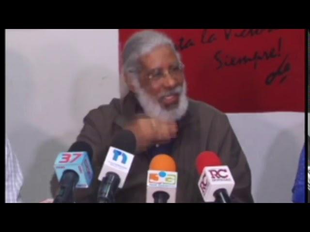 Juan Hubieres anuncia paro del transporte por alza combustible