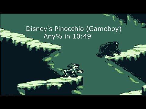 Disney's Pinocchio (Gameboy) Any% In 10:49